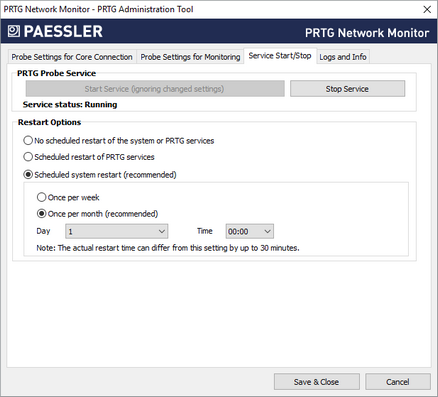 PRTG Administration Tool on Remote Probe Systems | PRTG