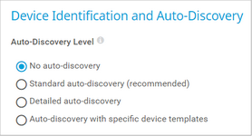 Device Identification and Auto-Discovery