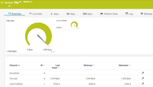 File Sensor | PRTG Network Monitor User Manual