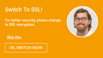 Switch to a Secure SSL Connection