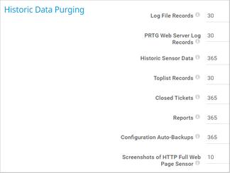 Historic Data Purging