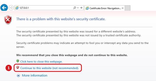SSL Certificate Warning | PRTG Network Monitor User Manual