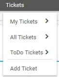 Main Menu: Tickets