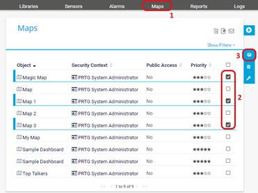Maps | PRTG Network Monitor User Manual