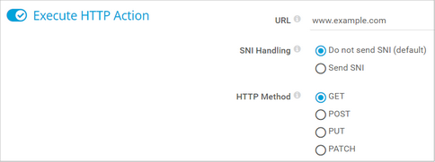 Execute HTTP Action