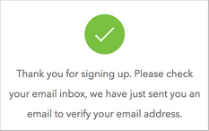 Verify Email Address Notification