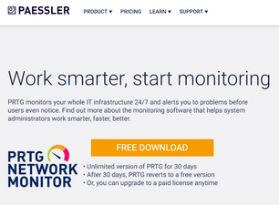 Download PRTG Network Monitor