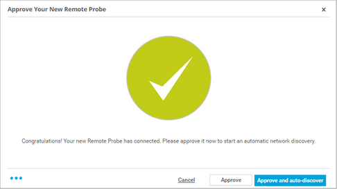 Approve Remote Probe for PRTG hosted by Paessler