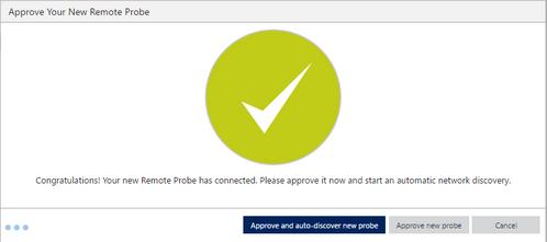 Approve PRTG Remote Probe for PRTG on demand