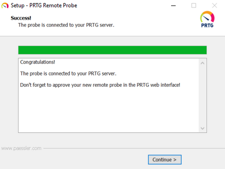 Install a PRTG Remote Probe | PRTG Network Monitor User Manual