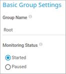 Basic Group Settings