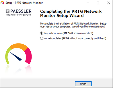 Install a PRTG Core Server | PRTG Network Monitor User Manual