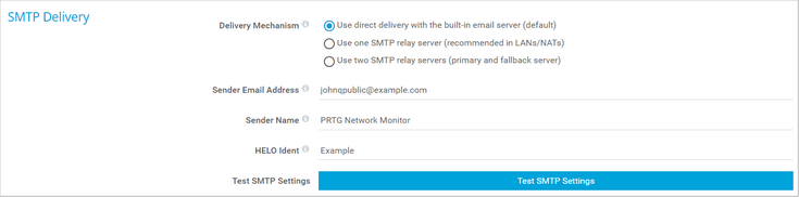 SMTP Delivery