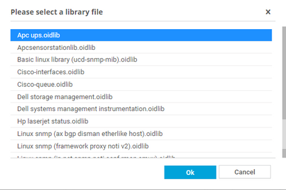 List of SNMP Library Files