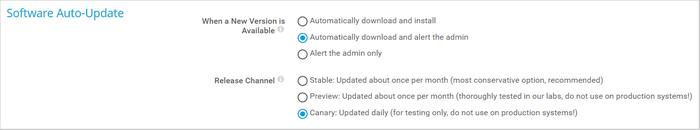 Software Auto-Update