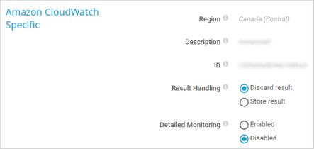 Amazon CloudWatch Specific