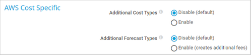 AWS Cost Specific