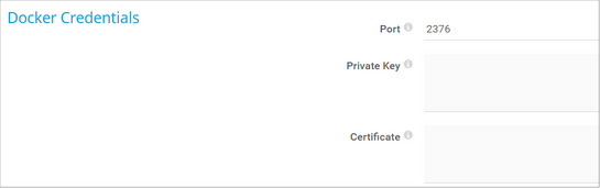 Docker Credentials