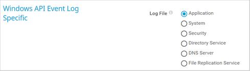 Windows API Event Log Specific
