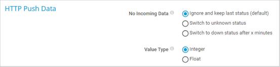 HTTP Push Data