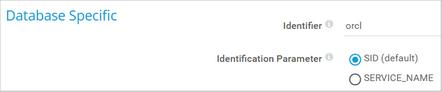 Database Specific