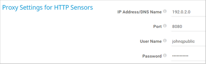 Proxy Settings for HTTP Sensors