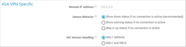 ASA VPN Specific