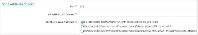 SSL Certificate Specific