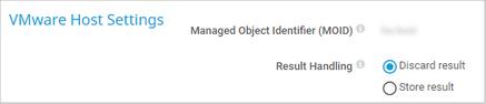 VMware Host Settings