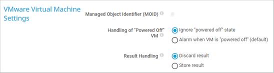 VMware Virtual Machine Settings