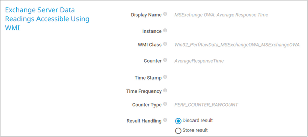 Exchange Server Data Readings Accessible Using WMI