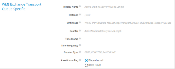 WMI Exchange Transport Queue Specific