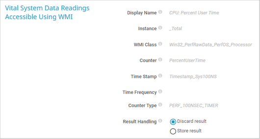 Vital System Data Readings Accessible Using WMI