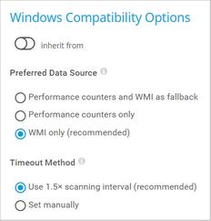 Windows Compatibility Options